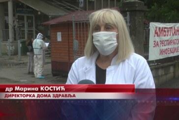 Kovid ambulanta u Kruševcu beleži blagi pad broja pacijenata koji se javljaju na prvi pregled
