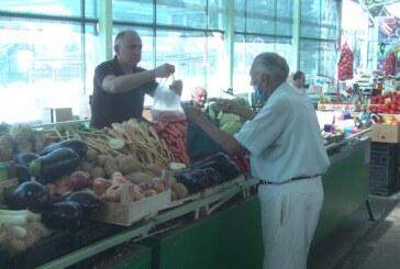 Stara zelena pijaca – nedeljna ponuda i potražnja