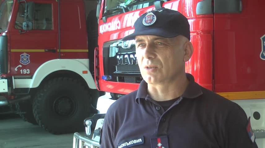 Vatrogasno spasilačka jedinica nije imala veliki broj intervencija u gašenju požara na otvorenom prostoru u prethodnom periodu