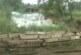 Klizište u selu Kobilju, u porti crkve Svete Trojice
