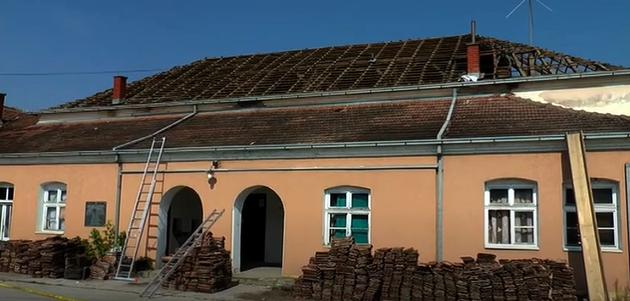 Rekonstrukciji Doma kulture u Trebotinu