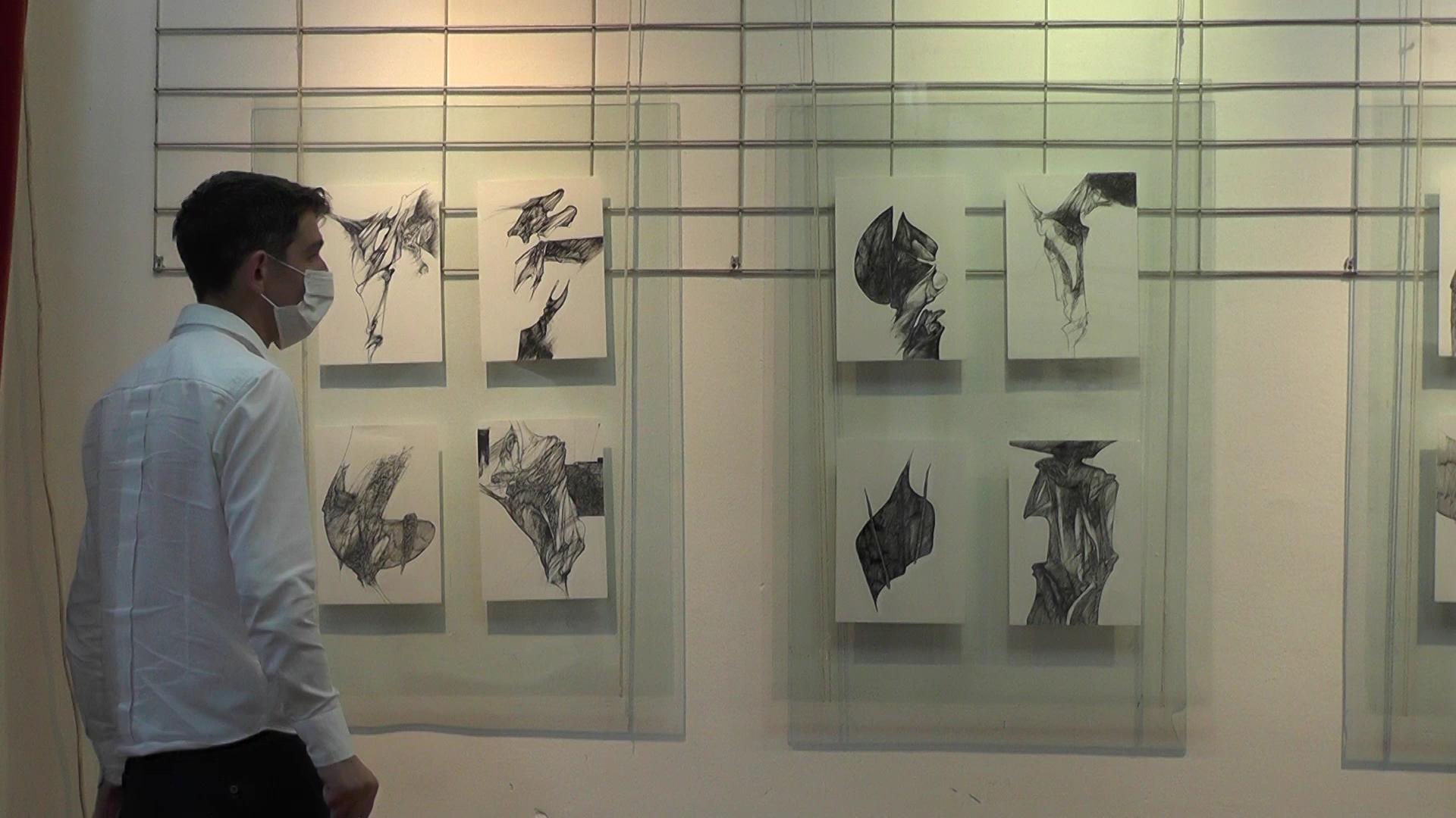 U Galeriji KCK otvorena izložbaVeselina Brkovića