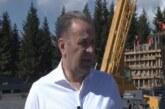 Ministar Rasim Ljajić i direktor JP Skijališta Srbije Dejan Ćika obišli radove na izgradnji gondole Brzeće – Mali Karaman