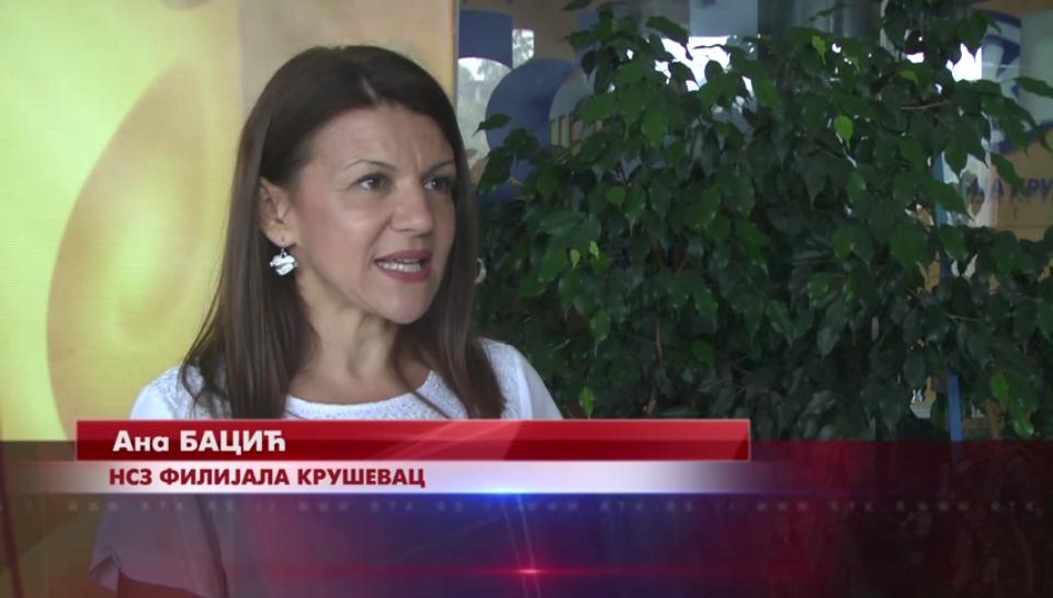 Na evidenciji Nacionalne službe zapošljavanja filijala Kruševac, tokom avgusta pad broja nezaposlenih