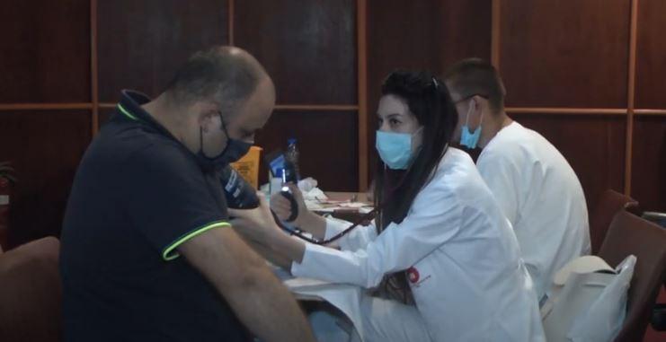 Akcija dobrovoljnog davanja krvi u organizaciji Gradske organizacije rezervnih vojnih starešina Kruševac
