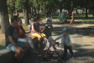 Nedelja u Pionirskom parku