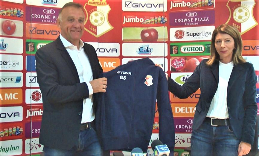 FK Napredak predstavio novog trenera, Gorana Stevanovića
