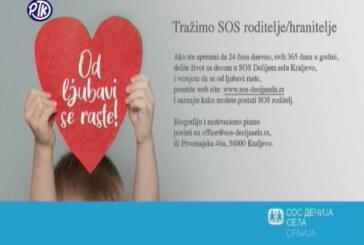 Konkurs Fondacije Sos sela Srbije za SOS roditelje