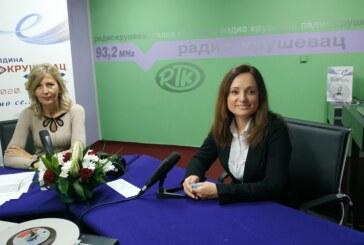 Gradonačelnica Kruševca Jasmina Palurović gošća Radio Kruševca