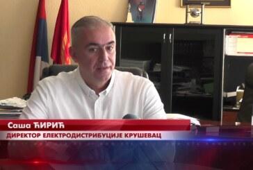 Elektrodistibucija Kruševac završila radove na zameni energetskog kabla od kružnog toka kod Merkura do platoa ispred Doma sindikata