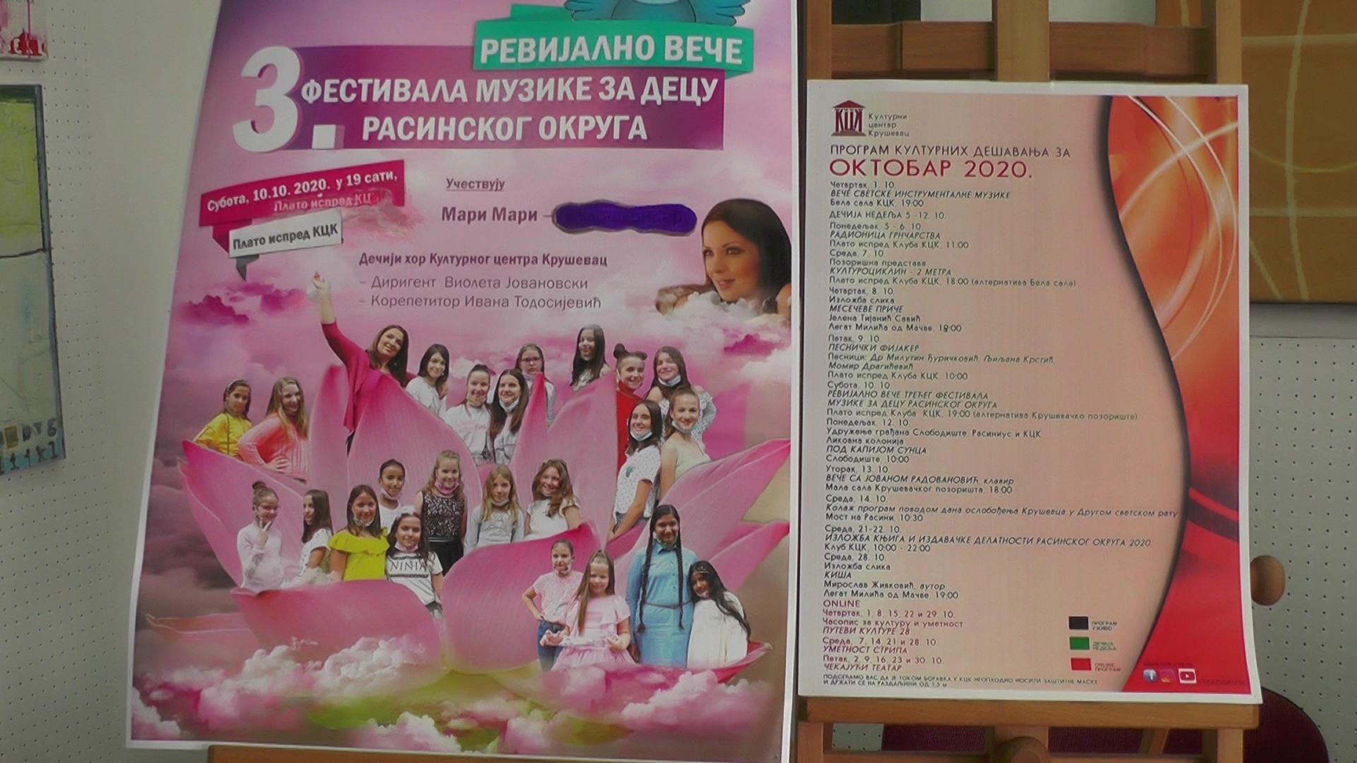 Kulturni centar Kruševac – bogat program za oktobar