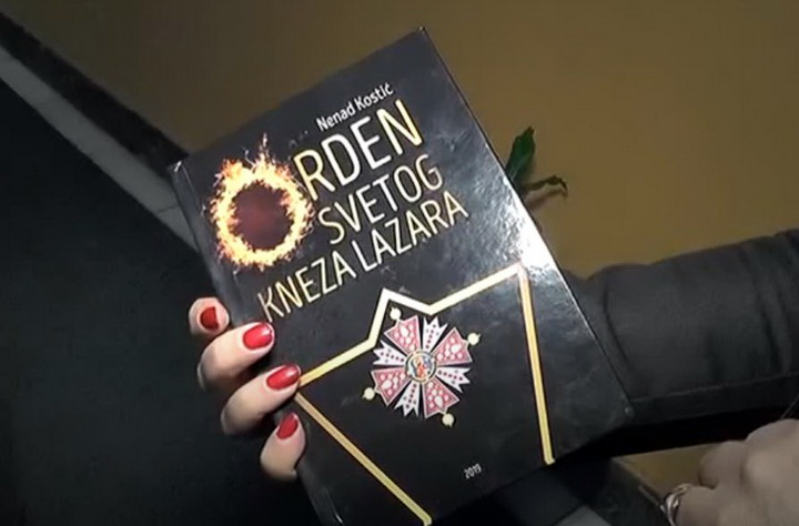"VIKEND SA KNJIGOM: ""Orden svetog kneza Lazara"" Nenada Kostića"