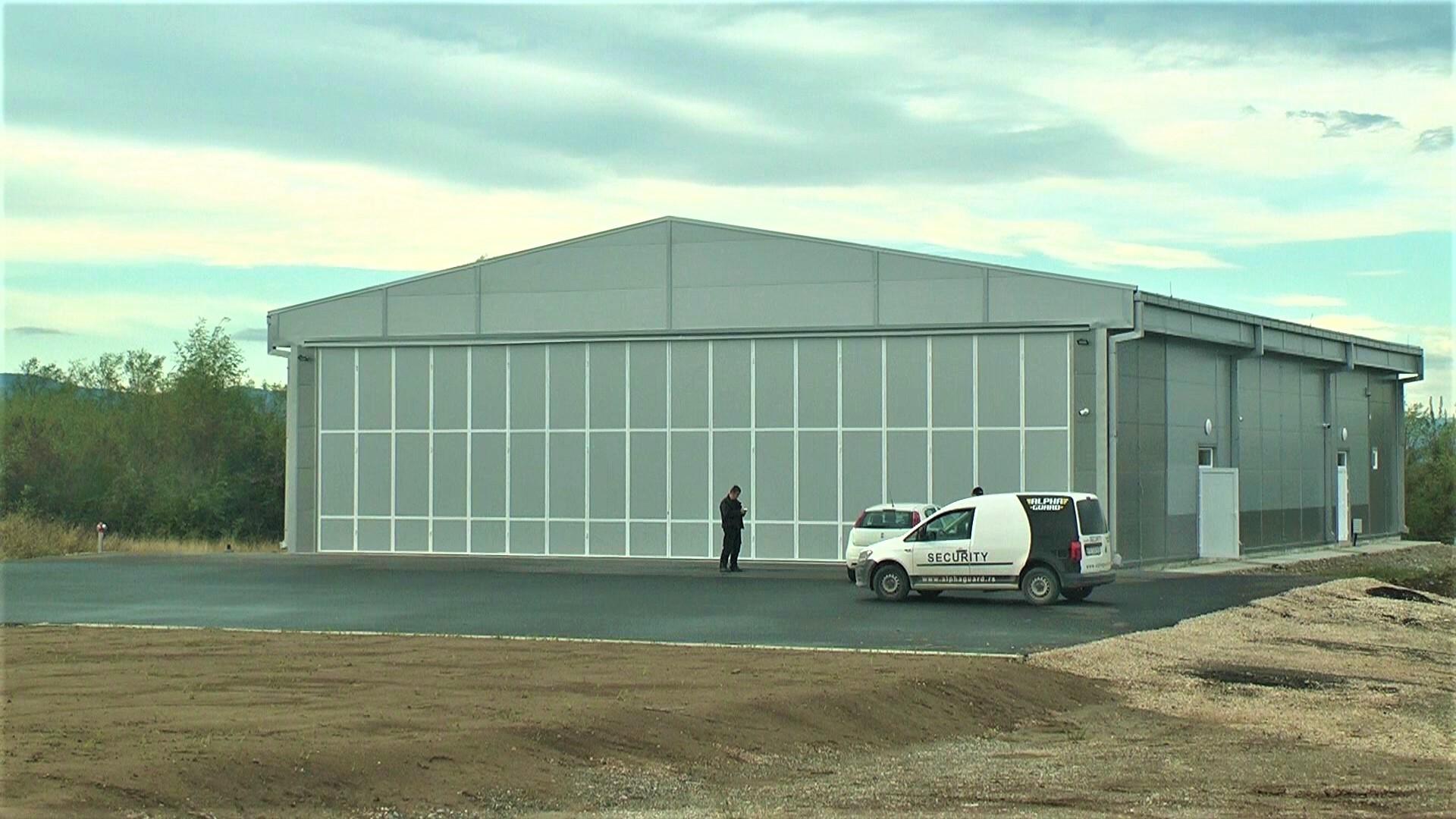 """Završeni radovi na izgradnji hangara aerodroma ,,Rosulje"""""""