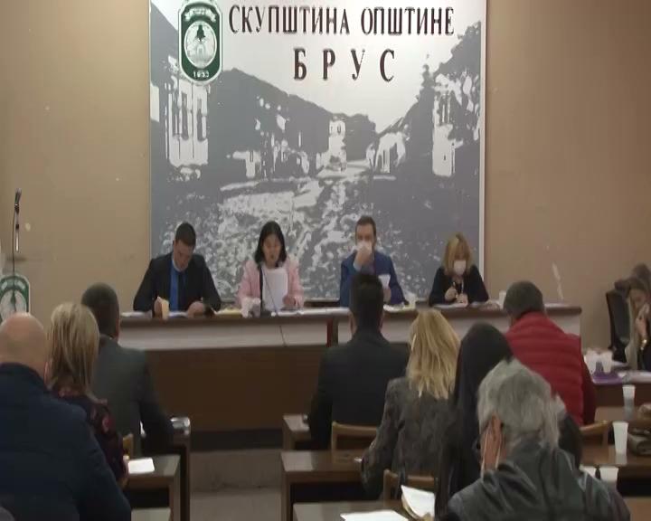 Održana peta sednica Skupštine opštine Brus