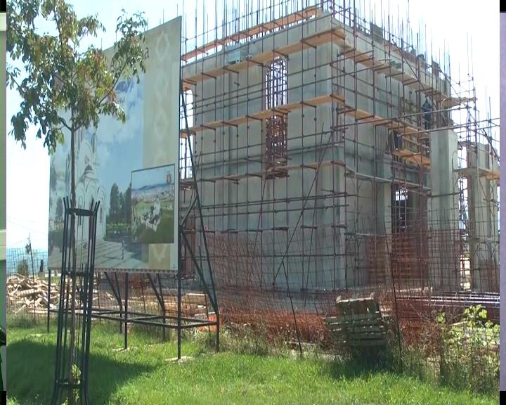 SVETOSAVSKA BAŠTA: Radovi na izgradnji novog hrama na Bagdali