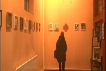 """Izložba ,,Mali format Udruženja likovnih umetnika primenjenih umetnosti dizajnera Srbije"""" u galeriji Milića od Mačve"""