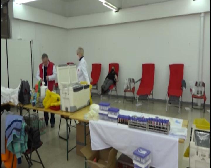 U Trsteniku organizovana poslednja akcija doborovoljnog davanja krvi za ovu godinu