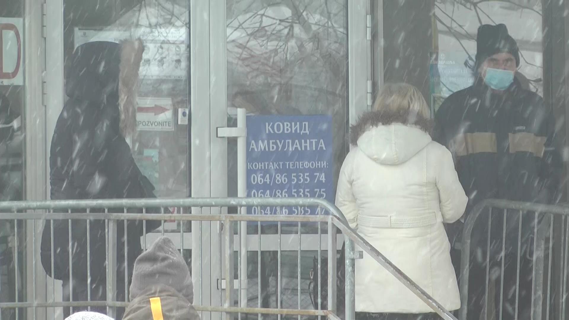 Radno vreme kovid ambulante u Kruševcu od ponedeljka