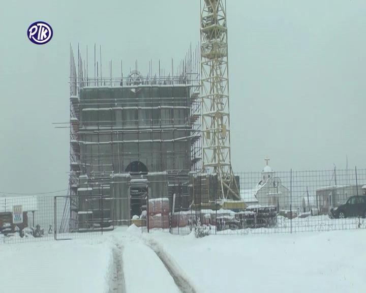 Jeromonah Sergije Radivojević: Izgradnja novog Sabornog Hrama na Bagdali, posvećenog Svetim Arhangelima – teče po planu