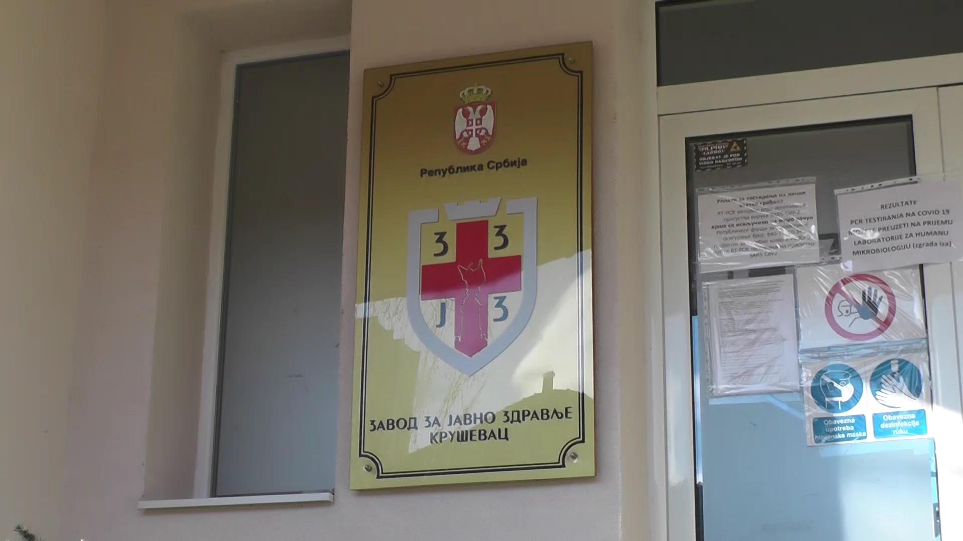 U Rasinskom okrugu još 36 novih slučajeva KOVIDA-19, u Kruševcu 17