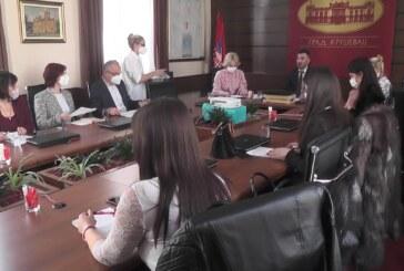 Održana konstitutivna sednicaSaveta za zdravlje Grada Kruševca