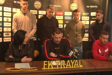 Na konfereniciji u FK Trajal predstavljeni novi igrači