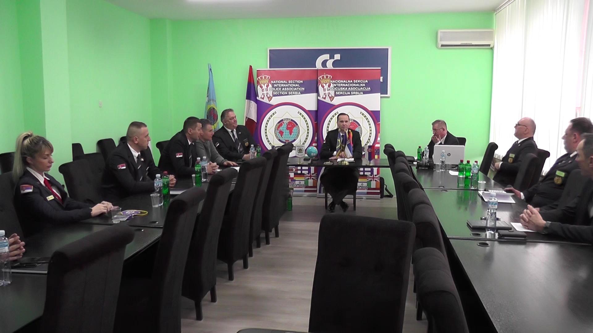 Godišnji sastanak Upravnog odbora nacionalne sekcije Internacionalne policijske asocijacije