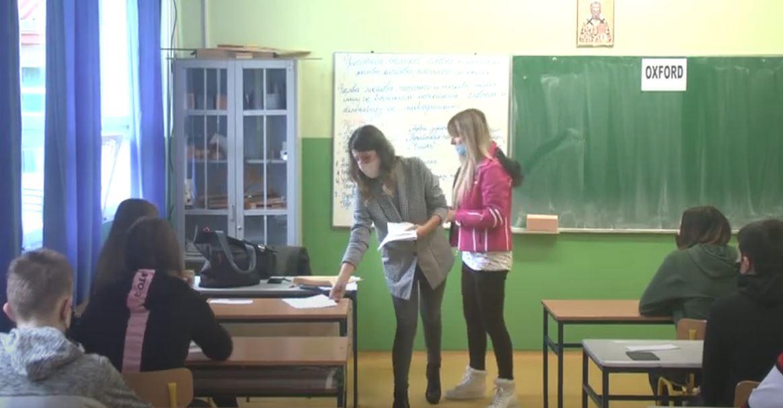 Takmičenje iz engleskog jezika u Osnovnoj školi Jovan Jovanović Zmaj