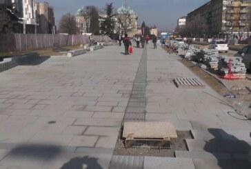 U toku završna faza rekonstrukcije Trga kosovskih junaka