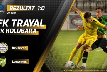 FK Trajal bolji od Kolubare, omladincima Napretka pripao gradski derbi