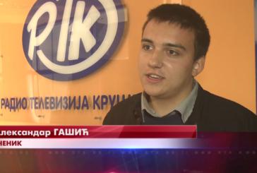 Aleksandar Gašić najbolji recitator među srednjoškolcima