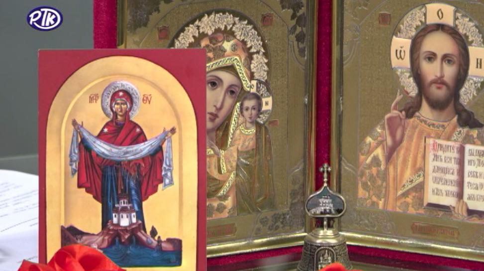 Pokrovska crkva kraj Rasine: Sastradavanje u Stradalnoj nedelji
