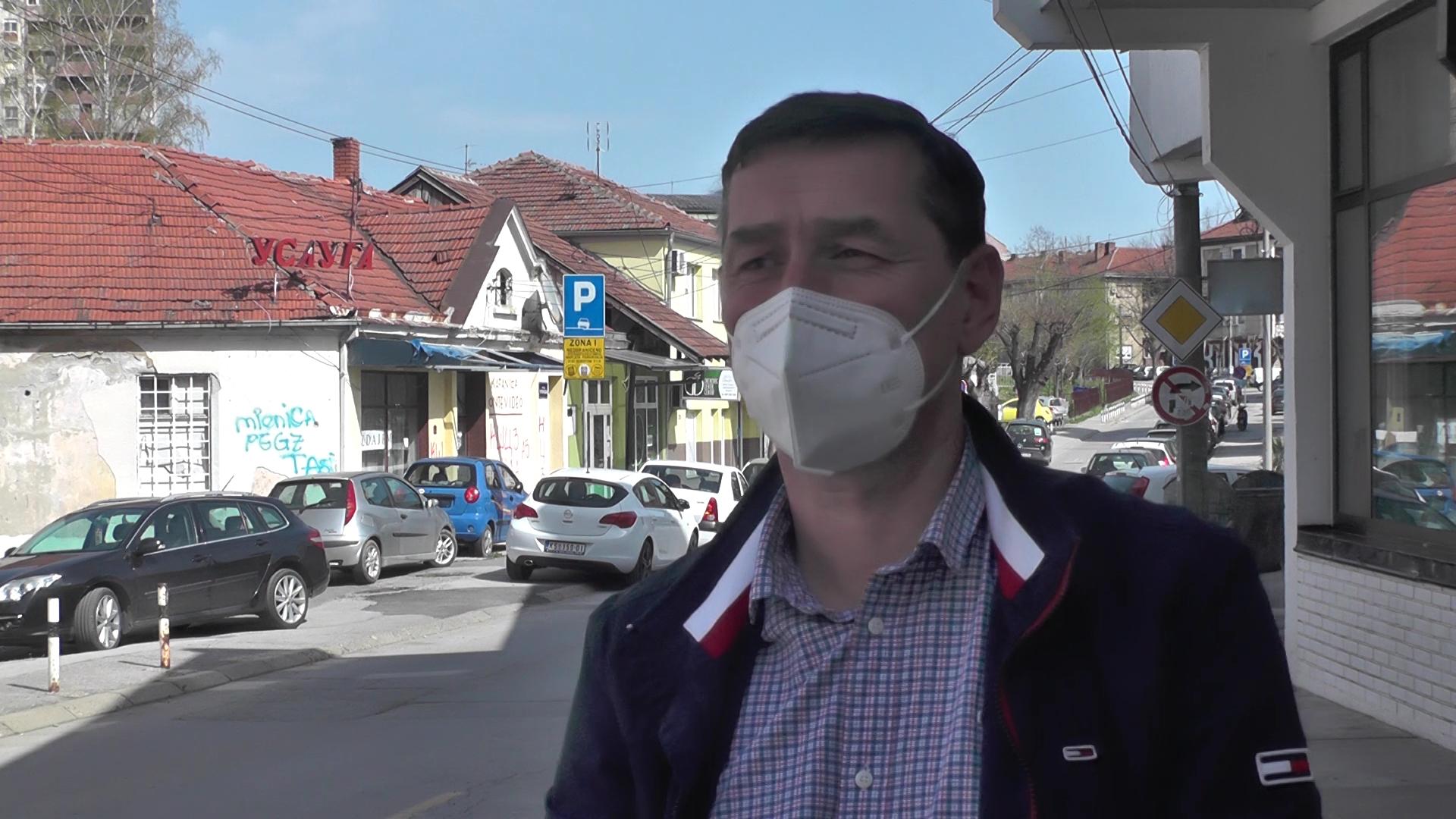 Načelnik Odeljenja za vanredne situacije Dušan Todorović: Kruševljani poštuju propisane mere zaštite od kovida 19
