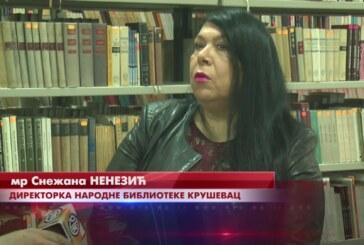 Svetski dan knjige Narodna biblioteka Kruševac obeležava sa velikim brojem novih naslova