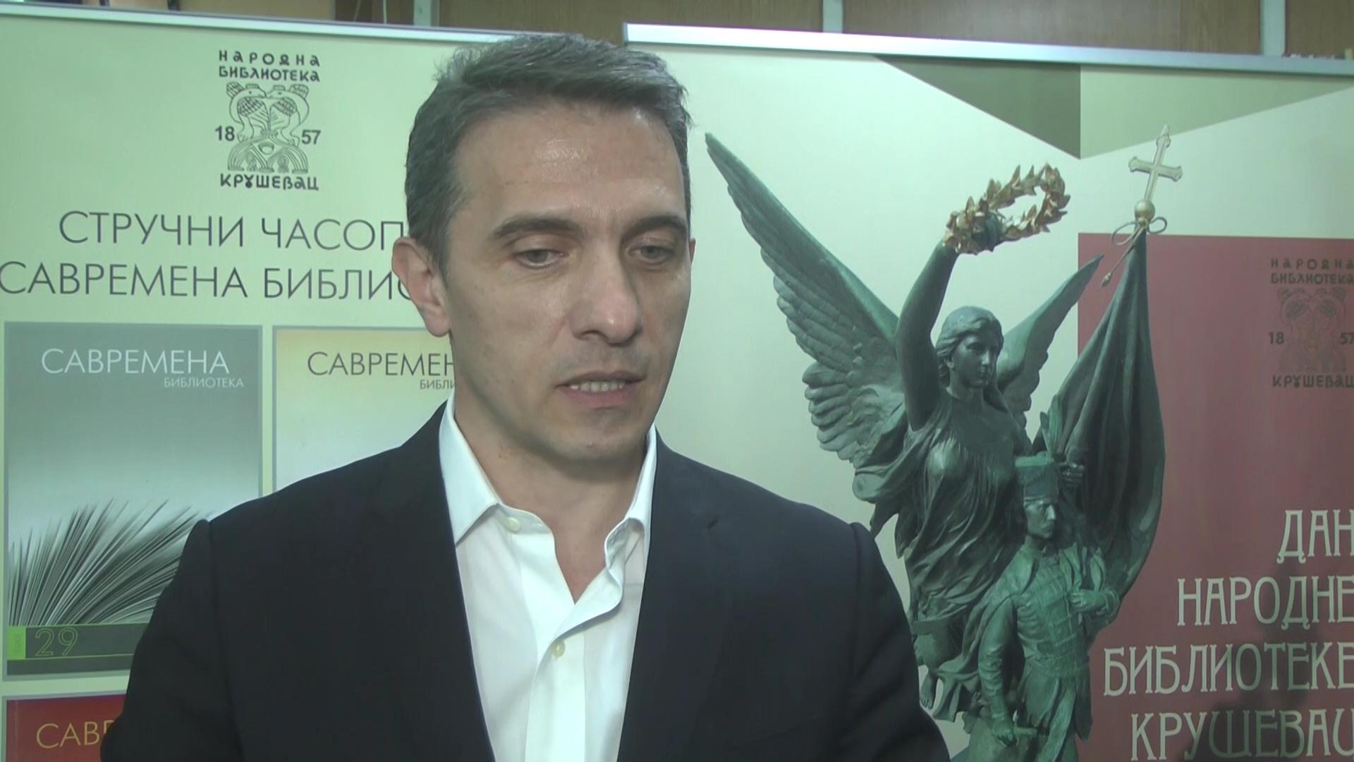 Svetski dan knjige u kruševačkoj Narodnoj biblioteci – sa publicistom Živojinom Petrovićem