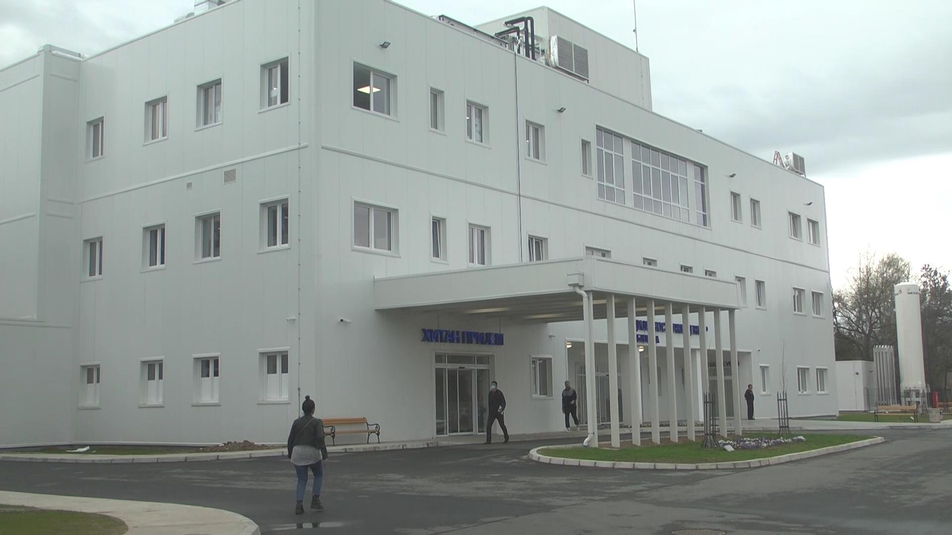 U kovid bolnici u Parunovcu trenutno na lečenju 340 pacijenata