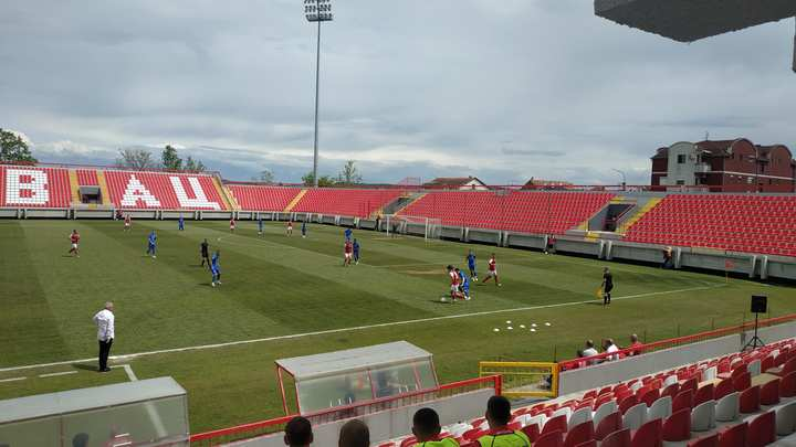 Pobedom protiv Mladosti (2:0) Napredak obezbedio superligaški status