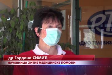 Tokom vikenda veći broj intervencija i pregleda u ambulanti Hitne pomoći