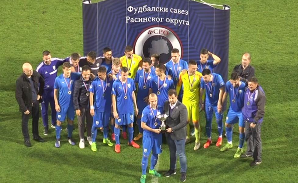 FK Trstenik PPT pobednik Kupa Rasinksog okruga