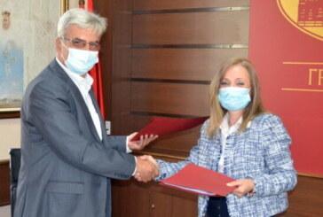 Potpisan sporazum o javnim radovima između Grada Kruševca i NSZ