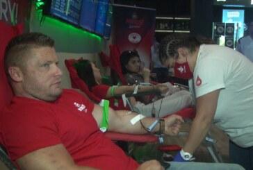 Dobrovoljna akcija davanja krvi u prostorijama kompanijeMaxBet na Kosturnici