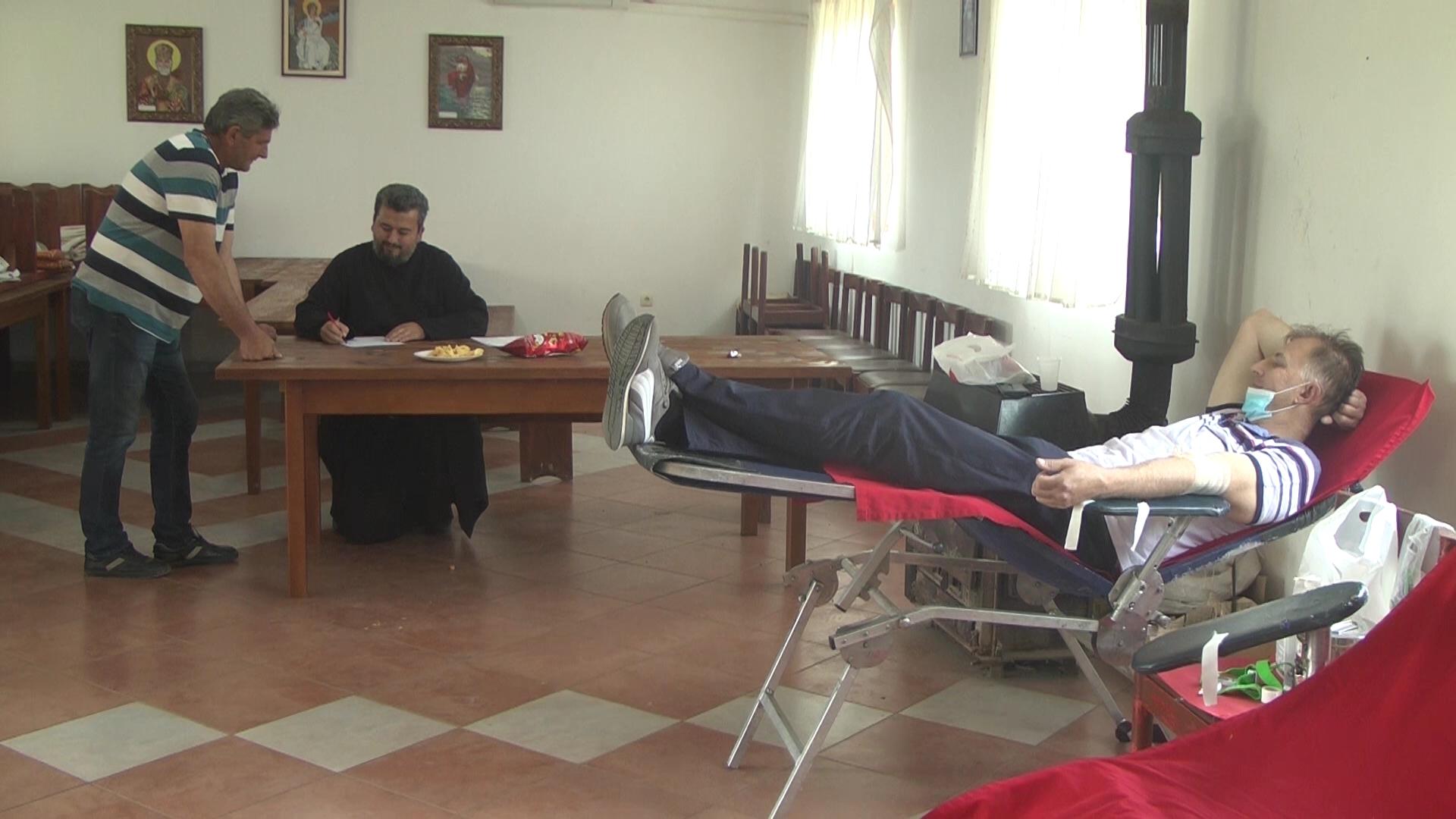U Vaskršnjoj akciji dobrovoljnog davanja krvi u Velikom Šiljegovcu prikupljena je 41 jedinica