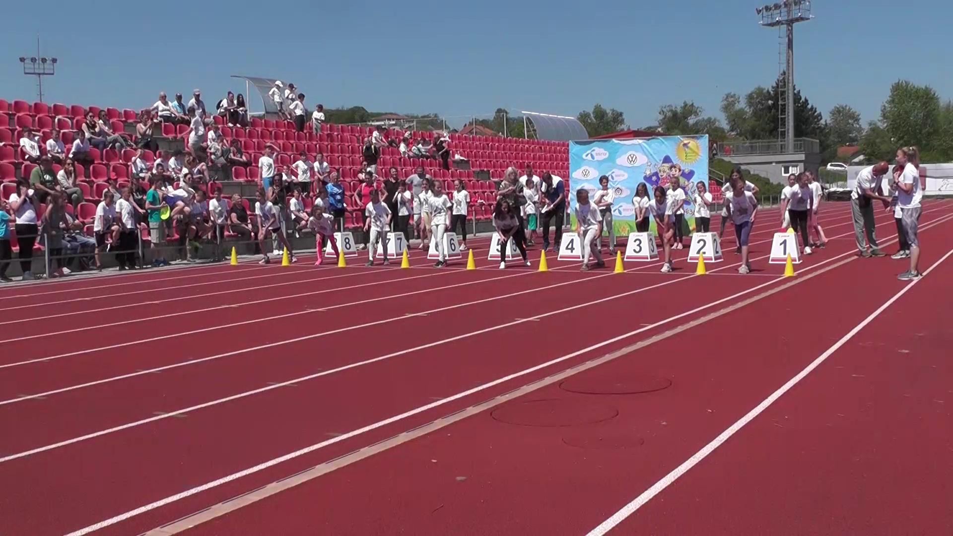 """Atletski miting pod sloganom """"Brzinom do zvezda"""""""