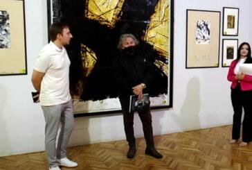 Otvorena izložba slikaitalijanskog umetnika Marca Gradia u Vrnjaćkoj Banji