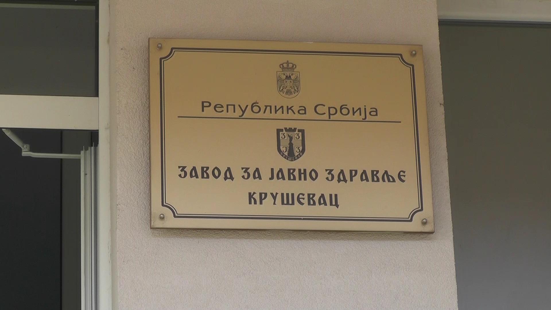Prema poslednjim podacima u Rasinskom okrugu još 170 novih slučajeva korone, u Kruševcu 101, u Trsteniku 33