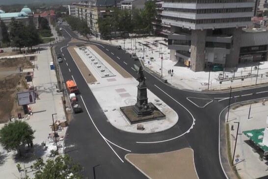 Završetak radova na rekonstrukciji Trga kosovskih junaka