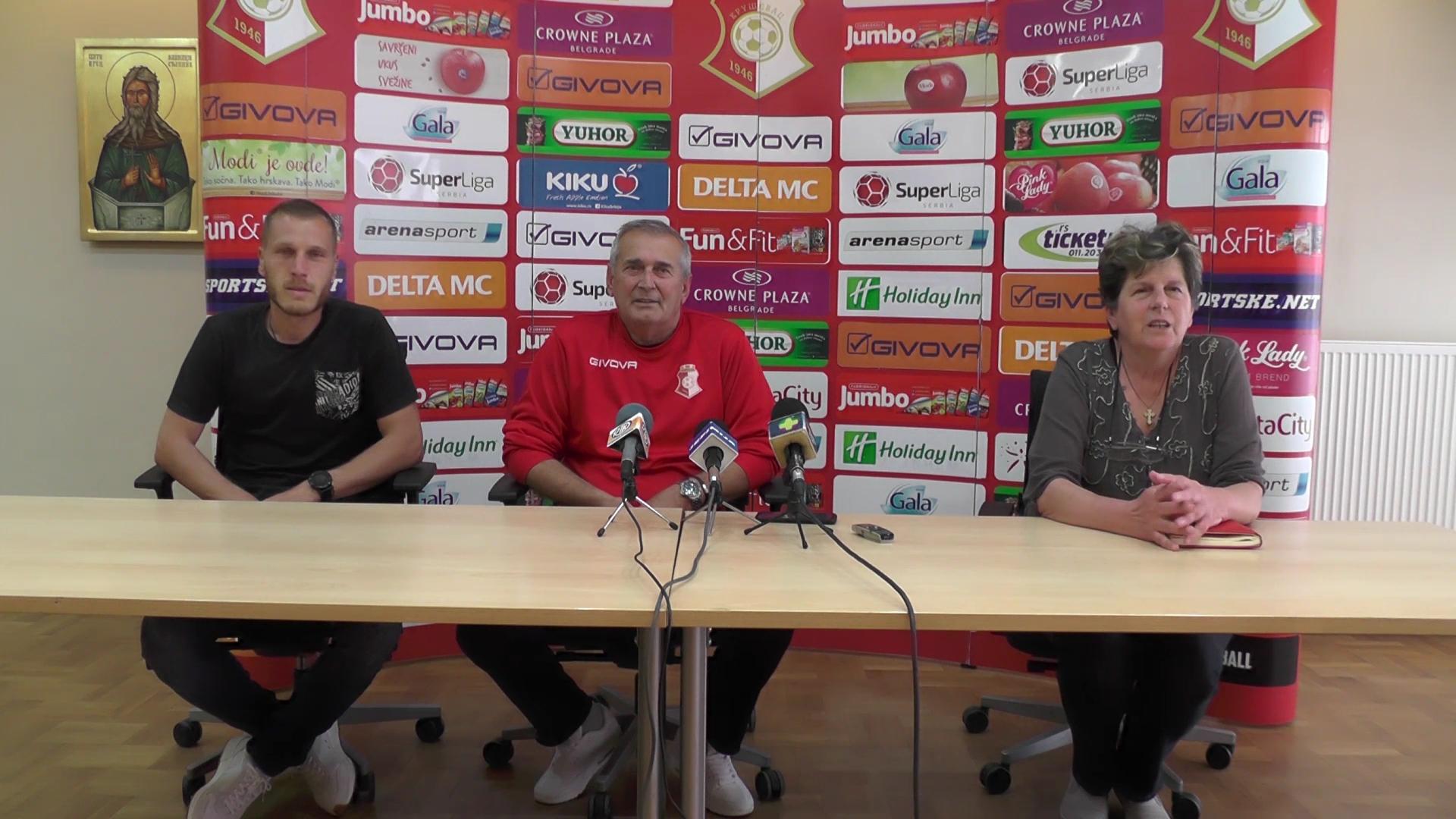 Fudbaleri Napretka počinju sa pripremama za novu sezonu Super lige Srbije