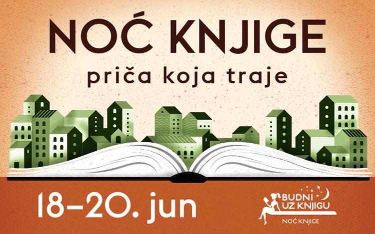 Noć knjige od 18. do 20. juna