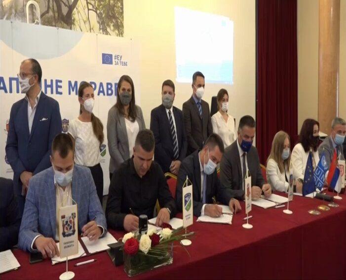 U Vrnjačkoj Banji potpisan Sporazum o međusobnoj saradanji 18gradova i opština posebno izloženih riziku od poplava, zemljotresa i klizišta