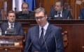 Vučić predstavio izveštaj o KiM: Nije nam potreban zamrznut konflikt, naš narod želi pregovore